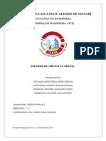 Informe de Estucturas 2