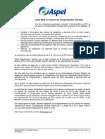 Reformas Fiscales 2012 en Materia de Comprobantes Fiscales en Los Sist Aspel