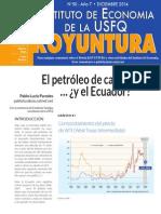 Koyuntura #50 Dic 2014 Petróleo
