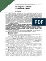 P1 Liberalizarea, Integrarea Si Efectele Politicilor Comerciale(p1)