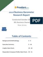 NJ Only Business Barometer 12.5.14
