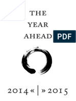 Yearcompass 2015 Year Planning Booklet A4