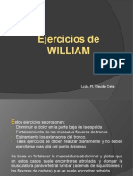 Ejercicios de William