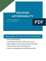 Housing Affordability Analysis, 2014-Q3