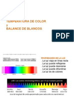 Temperatura de Color Semana 2