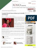 25-01-15 La Crónica de Hoy | La priista Marcela Guerra declina ir por la alcaldía de Monterrey