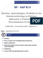 História SAP