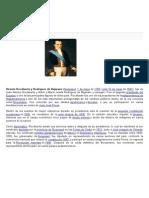 1 de Mayo de 1783 Natalicio de Vicente Rocafuerte