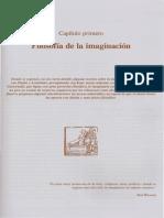 Capítulo Primero Filosofía de La Imaginación