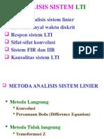 BAB 6 Analisis Sistem LTI