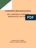 Constitución de Corea Popular y Democrática (Corea del Norte)