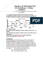 f 01 Exam 2 Solutions