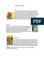 Significados Das Cartas to Tarô