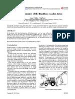 FEA Para Mejorar El Brazo de Cargador-retroexcavadora