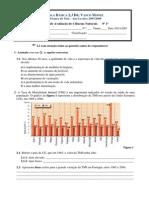 2007-2008 1 Teste de Avaliacao Do 9ano