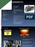 Uranium (Uraninite) 3