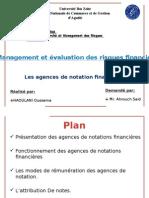 Agence de Notation Fin PPT