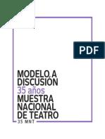 MNT Modelos de Discusión