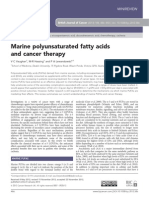 Marine Polyunsaturated Fatty Acids and Cancer Therapy (1)