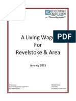 Revelstoke living wage report