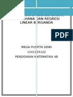 Contoh Soal Regresi Linear