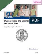 Student Health plan U of AR