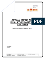 YOR-PICU-010 Airway Burns and Smoke Inhalation Guideline Feb 2012