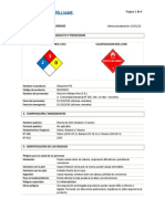 DILUYENTE P33 - MSDS
