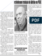 26-01-2015 Destaca Treviño Berchelmann trabajo de Adrián en PGJE