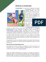 Atletismo en Guatemala Kids Atletismo RESUMIDO