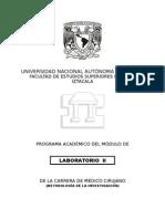 Programa Laboratorio II 2015