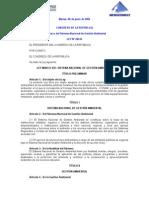 Ley 28245 Sistema de Gestion Ambiental
