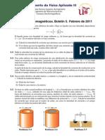 Boletin de preguntas sobre densidad de corriente y resistencias