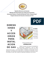 Trabajo Instalacion de Gas