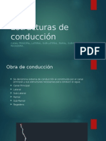 Estructuras de conduccion