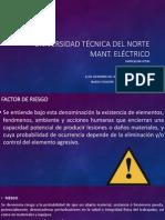 Factores de Riesgo (Seguridad industrial)