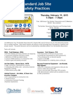 job site safety program 2015