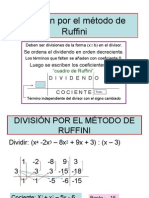 Divis. Mét. de Ruffini