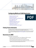 Configuring Multicast VLAN Registration