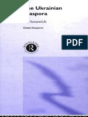 Satzewich - The Ukranian Diaspora | Diaspora | Ukraine