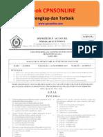Soal cpns Pengetahuan Umum DEPAG Edisi Free