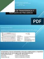 Función de Transferencia y Respuesta en Frecuencia