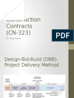 Construction Contracts_delivery Methods