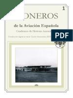 PIONEROS Cuadernos de Histª de La Aviación Española Núm. 1