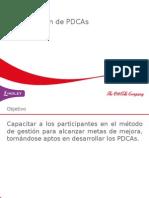 Capacitacion PDCA