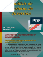 Adm. Financiera - Analisis de Carteras de Inversion - Zambotti