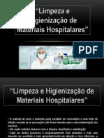 Ufcd 6563 Limpeza e Higienizacao de Material Hospitalar
