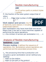 quantitative analysis of flexible manufacturing system