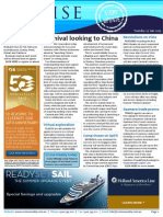 Cruise Weekly for Tue 27 Jan 2015 - Carnival China MoU, Uniworld, Vista designs, Azamara incentive, Australia Day and much more