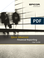 Epicor Advanced Financial Reporting User Guide 10.0.600
